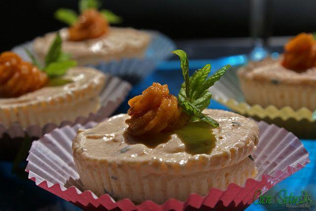 Mini cheesecake al salmone - Chef ASDOMAR