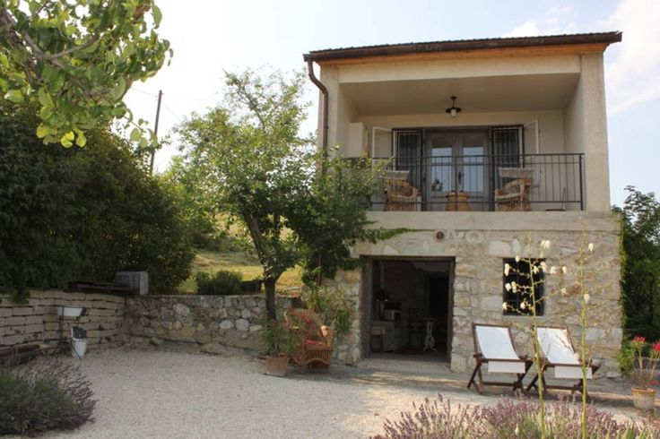 House in Pécsely, Hungary. Our holiday cottage is situated on a hillslope, which provides a beautiful panoramic view of the surrounding hills, vineyards, reaching as far as Lake Balaton. The property is located in the Balaton-felvidék National Park.  Our romantic, Provence ...