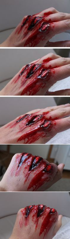 20 Creepy Halloween Makeup Tutorials