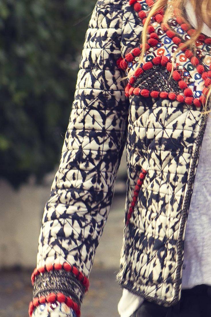 La chaqueta-joya de Isabel Marant para H&M © Beatriz Antolín