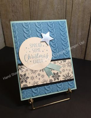 Stampin' Fun with Diana: SSINKspiration Favorite Accessory: Cable Knit Dynamic Embossing Folder
