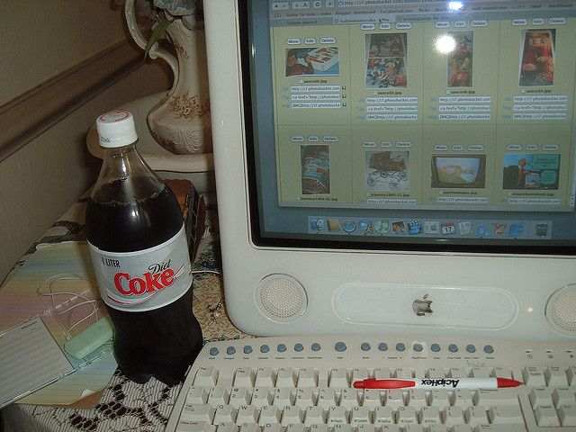 On a hot day I like to go to a convenience store and get a one liter of Diet Coke. So I did it Saturday.i like it