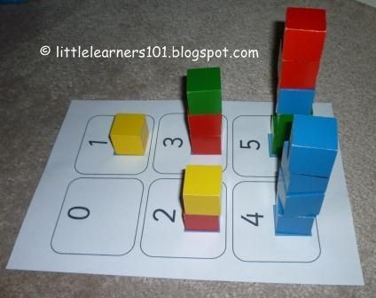 Little Learners: Number Block Towers