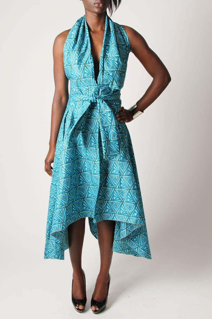 Sapelle // 'Shwe-shwe' Halterneck Dress