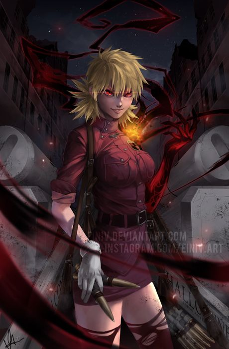 Sorry for the hiatus haha. Here's a recent fanart that I have completed! I've been meaning to draw Seras Victoria for the longest time. Honestly my 2nd favorite character in Hellsing (Alucard is fi...