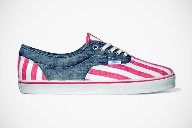 """Vans California Lo Pro 2012 Spring/Summer """"Washed Stripe"""": Running Shoes, California Lo, American Flags, Lo Pro, Vans Shoes, Spring Summer, Styles, American Vans, Stripes"""