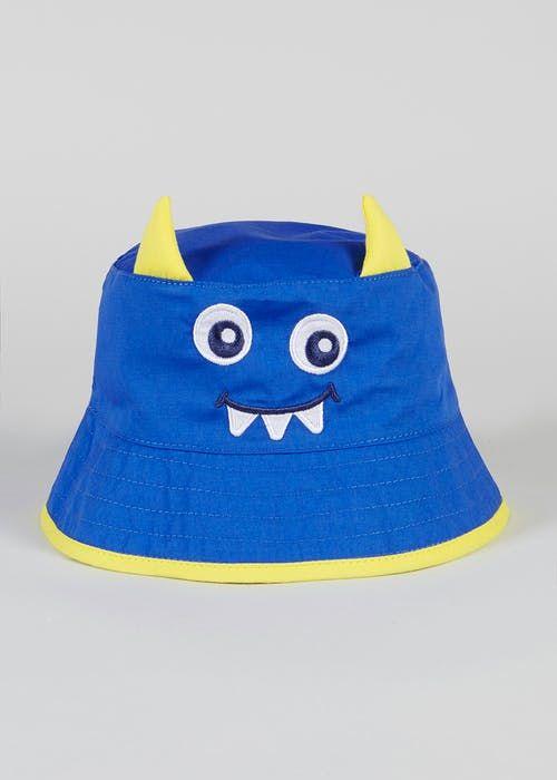 Boys 3D Monster Sun Hat (6mths-4yrs) a4cd1df6d50