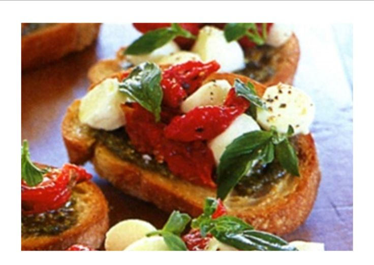Bruschetta recipes - easy and make them in 15 mins