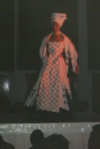 African Queen, end year clothes design fashion show.