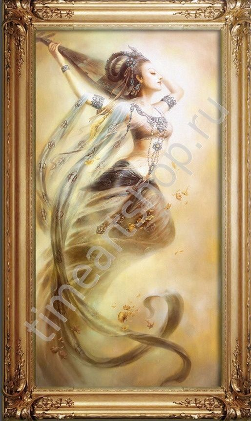 Фея Гуаньинь,  алмазная вышивка (алмазная мозаика), картины своими руками