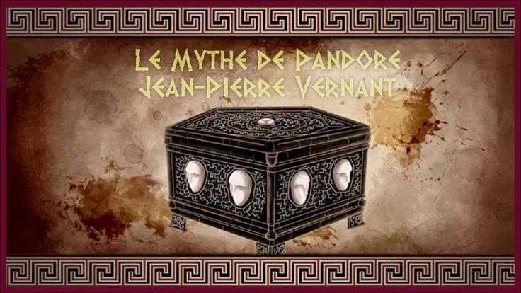 Le Mythe de Pandore par Jean-Pierre Vernant