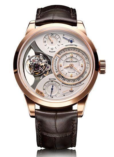 Jaeger LeCoultre Duometre à Spherotourbillon watch*** #Watch