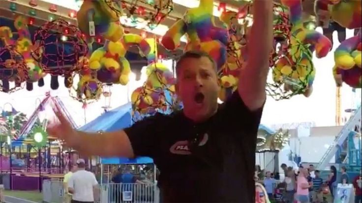 Tony Stewart celebrates victory at county fair in big way | Fox News