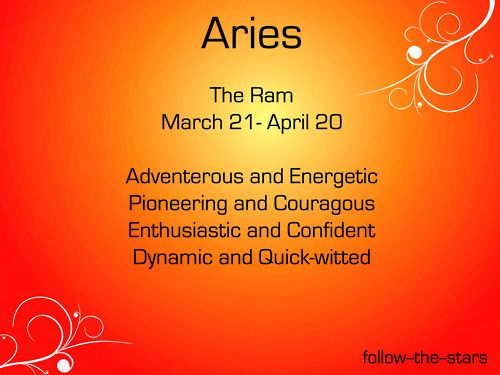 Aries trait