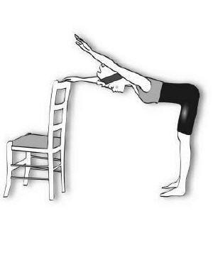 5 exercices pour muscler son dos : avec une chaise