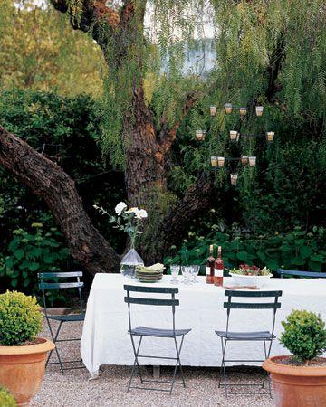 .Alfresco, Al Fresco Dining, Decor Ideas, Chic Home, Dinner Parties, Gardens Dining, Outdoor Spaces, Gardens Parties, Backyards