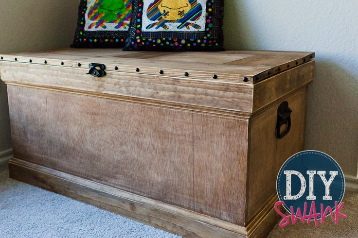 Diy Pottery Barn Inspired Trunk Toys Baby Girls And