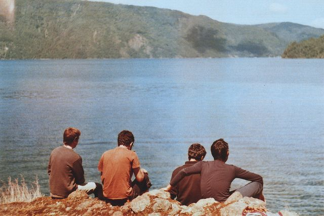 Free periods by the black lake -1974
