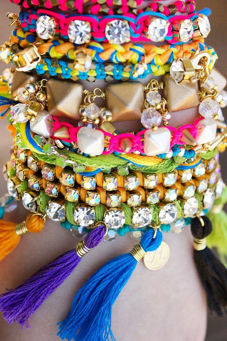 DIY: fiesta bracelets