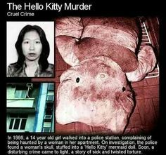 I can't believe this is a true story! You can get the whole story here: http://hkmurder.wordpress.com/about/the-hello-kitty-murder/