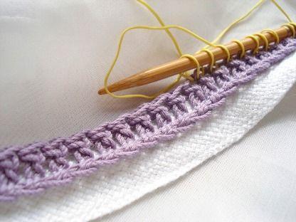 秘技?一目ゴム編みの作り目が楽になる作り目テープ | kaushika