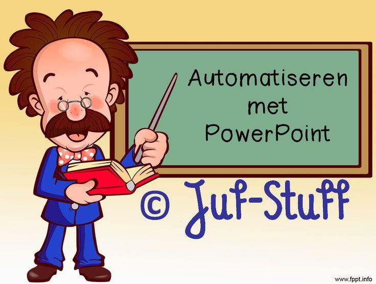 Juf-Stuff: Automatiseren rekenen PowerPoint uitleg Leuk filmpje van leraar24 over praktijk. Zeker doen in de klas!
