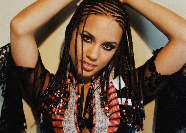 EYES. Alicia Keys–style braids   28 Iconic Fashion Trends From The Early 2000s