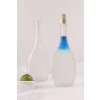 Sticla 500 ml Ikona K satinata   Sticle cadou marturii nunta   Sticle alcool pt nunta