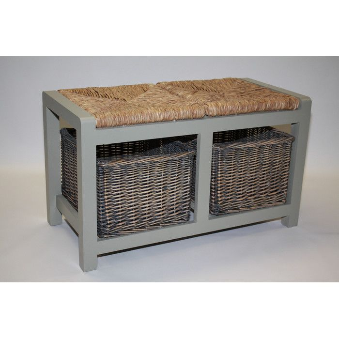 You'll love the Cavendish Wicker Storage Hallway Bench at Wayfair.co.uk - Great Deals on all Furniture  products with Free Shipping on most stuff, even the big stuff.