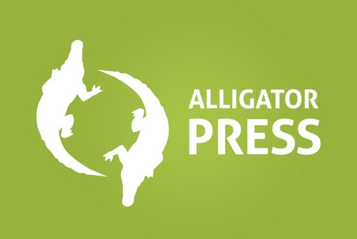 Alligator Press - Logo Design  logo design perth | graphic design perth www.cvwcreative.com.au - 08 9219 1300