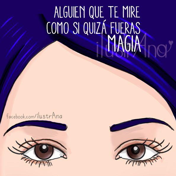 #mujer #mirada #ilustrana #diferente #magia #dibujo #ilustración #love #illustration #draw #woman #women #beauty #girl #couple
