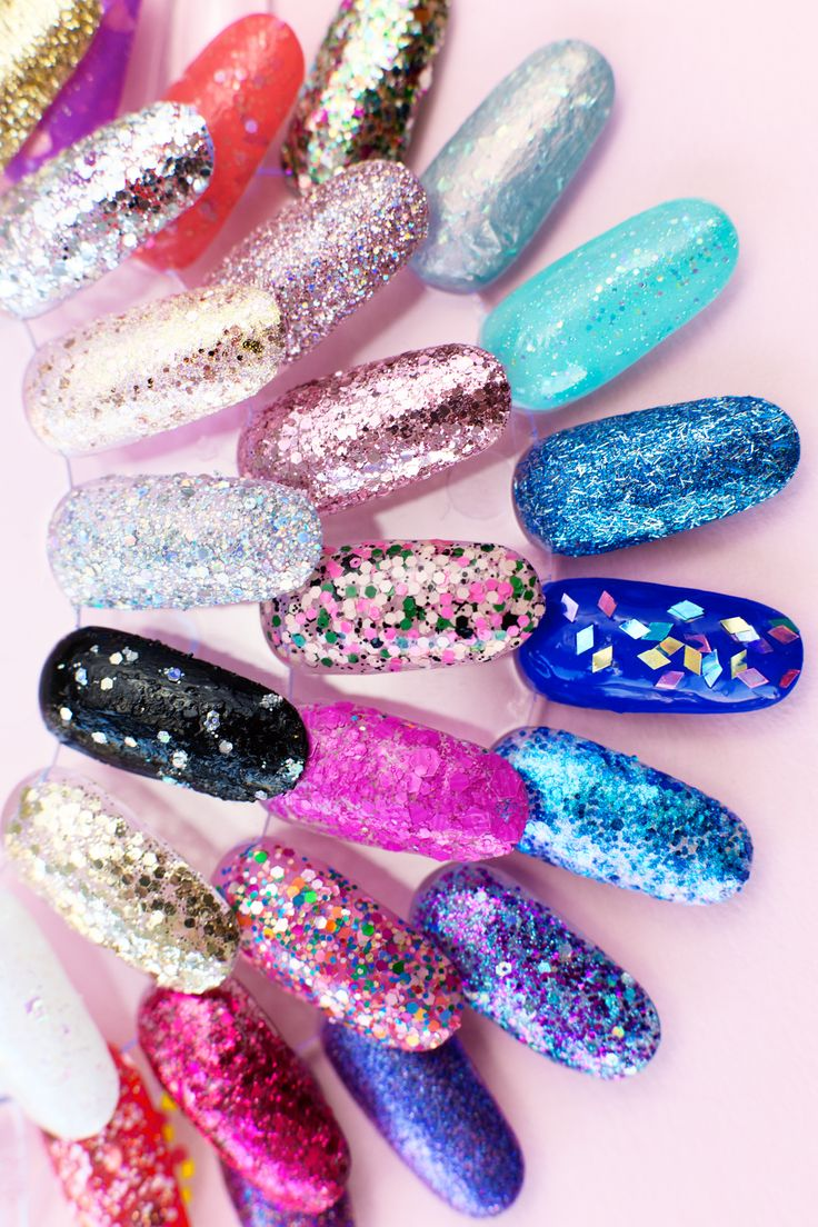Try out these three techniques to remove glitter nail polish. Plus, check out 30 of our favorite glitter nail polishes!