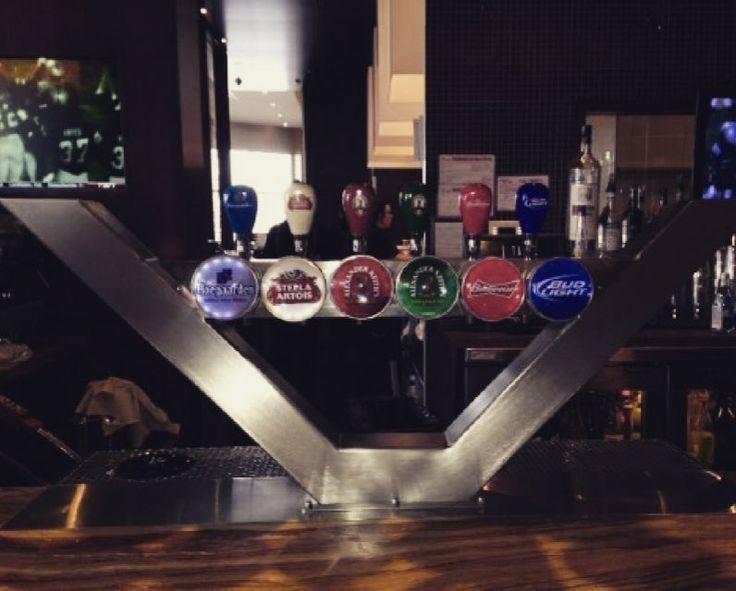 Custom Shaped Stainless Steel beer tower for Labatt InBev ! #Beer #design