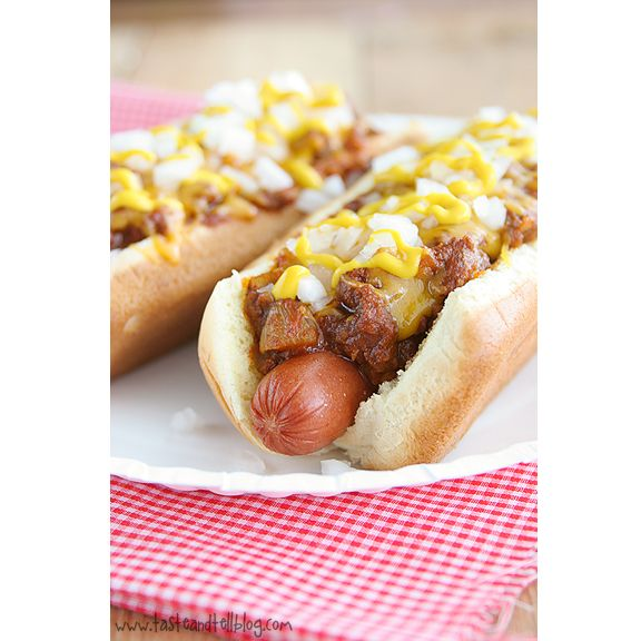 Chili dogs are my favorite - but I've never really cared for chili from a can. Gonna try this tonight!