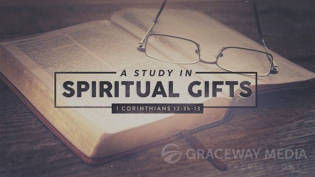 """A Study In Spiritual Gifts"" is a Title Still containing a Title Layout and two unique Content Layouts. Download Jpegs in both 16:9 (widescreen) and 4:3 (standard) format or PowerPoint presentations ready for your bullet points. Take full creative control and download the layered Photoshop file (PSD)."
