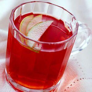 Hot Strawberry Cider