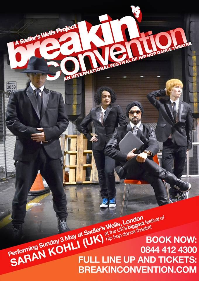 Introducing a BC newcomer: Saran Kohli - performs at Breakin' Convention at Sadler's Wells on Sunday 3 May.  About the performance: Choreographer and fashion designer Saran Kohli approaches Queen's Bohemian Rhapsody with a slick, witty, street dance routine.  Tickets: https://secure.sadlerswells.com/production/41184 Full festival line up: http://breakinconvention.com/events/festival