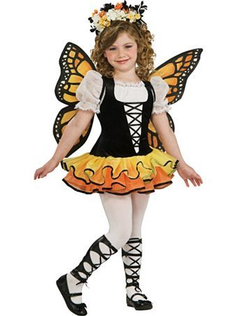 Kids Monarch Butterfly Costume | Wholesale Bee/Bug/Butterfly Halloween Costume for Girls