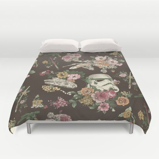 Buy ultra soft microfiber Duvet Covers featuring Botanic Wars by Josh Ln. Hand sewn and meticulously crafted, these lightweight Duvet Cover vividly feature your favorite designs with a soft white reverse side.