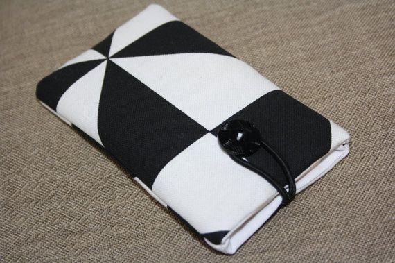 Wit met zwarte geometrische ontwerpen iPhone 6s case door TASAMA