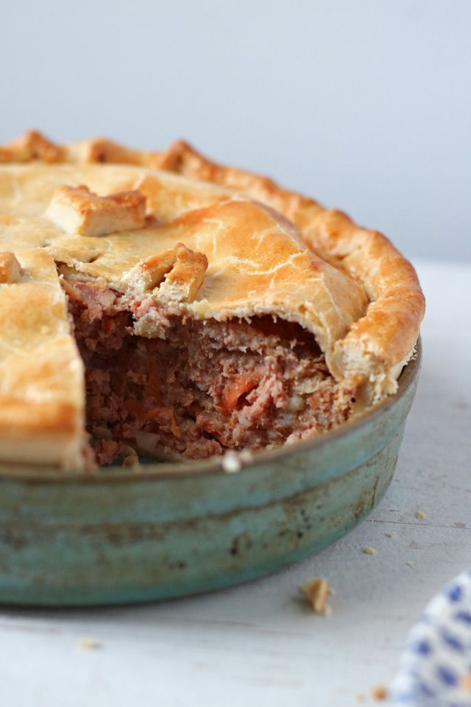 Corned Beef Pie Recipe - An Old Favourite - Lovely Appetite