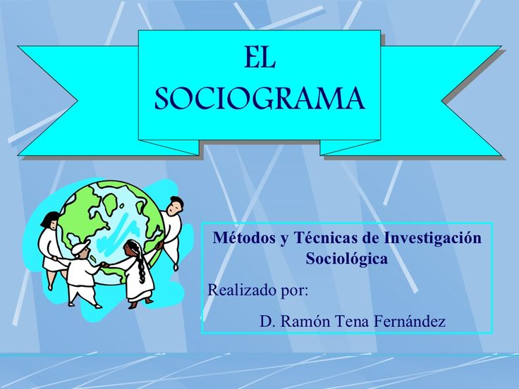 el-sociograma-en-primaria by rtenafer via Slideshare