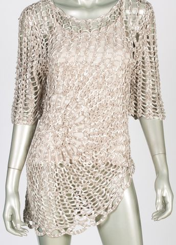Joseph Ribkoff Crochet Cover Up & Camisole 41995 - Ravishing & Rugged