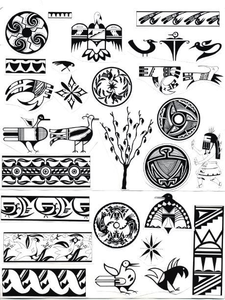 Native American Pottery/Paint Patterns