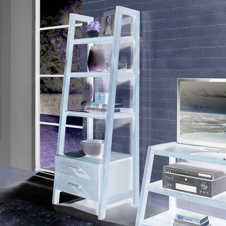 Ladder Bookcase with Drawers - Best Cheap Modern Furniture Check more at http://fiveinchfloppy.com/ladder-bookcase-with-drawers/ #cheapmodernfurniture