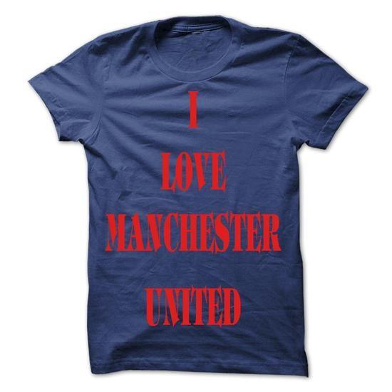 I LOVE MANCHESTER UNITED - #party shirt #sweatshirt pattern. MORE ITEMS => https://www.sunfrog.com/Sports/I-LOVE-MANCHESTER-UNITED.html?68278
