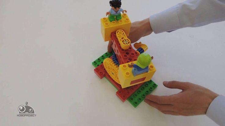 Лего Первые механизмы - Карусель