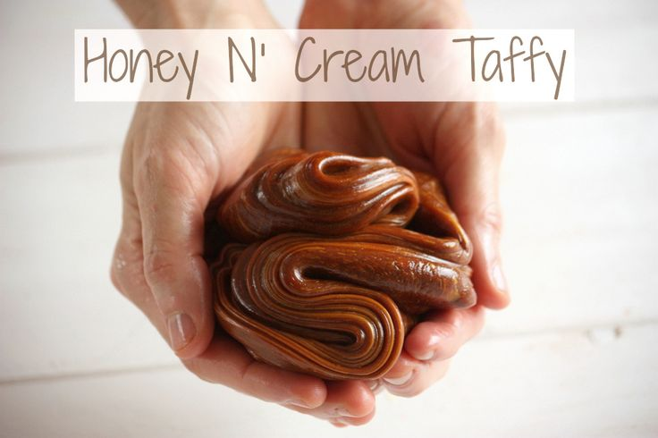 Honey & Cream Taffy Recipe