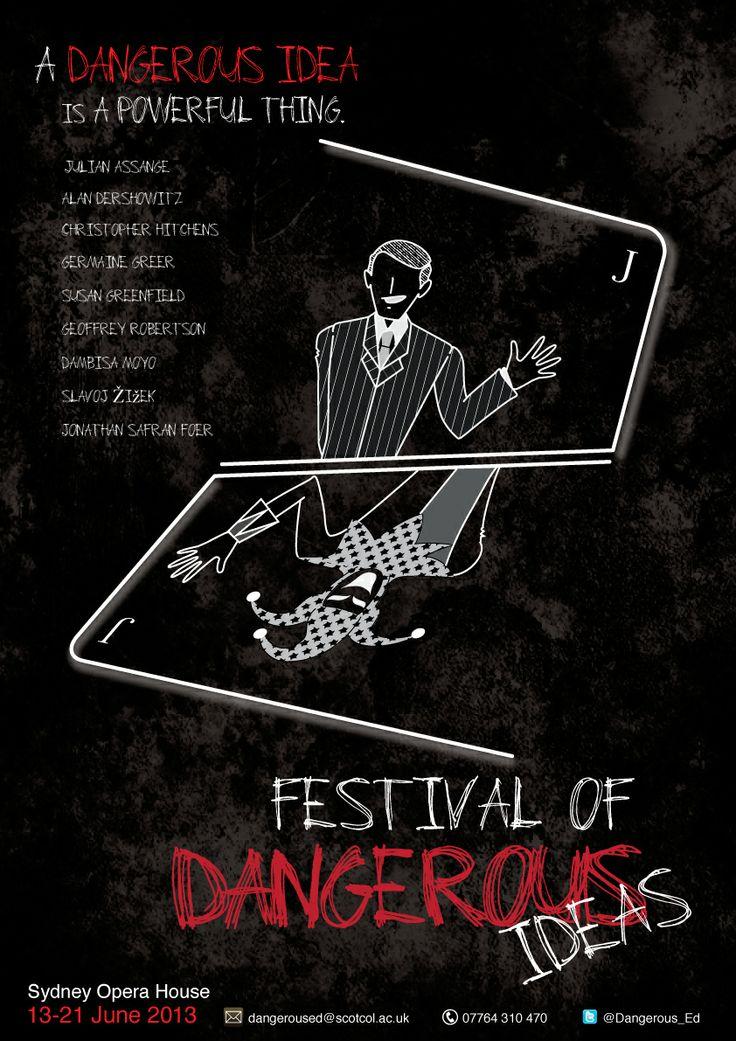 Festival of Dangerous Idea Poster