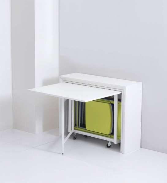 table pliante table rabattable